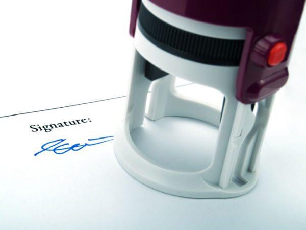 как вставить печать в оснастку для печати